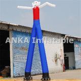 Clown-aufblasbarer zwei Fahrwerkbein-Himmel-Tänzer Anka