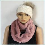 Фабрика шарфа пробки ватки PV шеи черного белого розового способа молодая