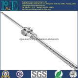 Arbre de usinage de commande numérique par ordinateur de précision certifié par ISO9001