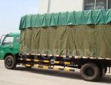 Pvc Met een laag bedekte Geteerde zeildoeken voor de Dekking van de Vrachtwagen