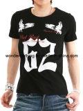 Concevoir le T-shirt de mode d'homme estampé par écran de coton