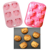 Cake Cookie Chocolate Jelly를 위한 붙지 않는 Mold Silicone Mould