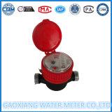 Hohe Genauigkeits-einzelner Strahlen-inländisches Wasser-Messinstrument (DN15-DN32)