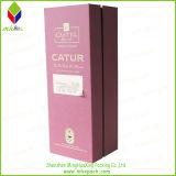 Papel de lujo Caja de empaquetado del vino