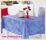 Tissu de Tableau de PVC avec le support de flanelle pour le banquet
