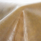 Öliges und wächsernes zerknittertes Muster-Ausgangsgewebe-Belüftung-Möbel-Leder