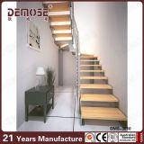 Hölzerne Stahltreppe für Verkauf (DMS-3010)