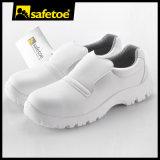 Zapatos de seguridad del recinto limpio, zapatos de seguridad blancos L-7201
