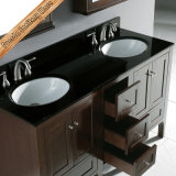 Module de salle de bains américain classique en bois plein de vente chaude