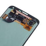 Rimontaggio dell'Assemblea della visualizzazione del convertitore analogico/digitale dell'affissione a cristalli liquidi dello schermo di tocco per la galassia S5 di Samsung