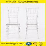 수지 Tiffany 투명한 Chiavari 의자