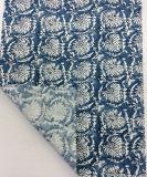 Tela mezclada viscosa de lino impresa para la ropa y las materias textiles caseras