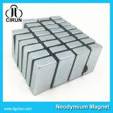 Magneet van het Blok van het Neodymium van de Grootte van de douane de Sterke N52