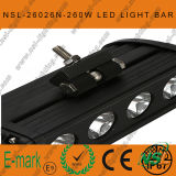 47inch 260Wのクリー語LED Light Bar、Flood Euro 4WD Boatのユート語Driving Work LightsのNew 10W Range LEDのストロンチウムLight Bar