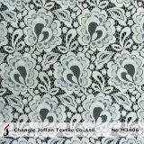 Оптовая продажа цвета слоновой кости шнурка хлопко-бумажная ткани Bridal (M3406-G)
