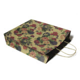 La aduana recicla el bolso de compras de papel por encargo de papel