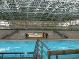 Space de acero Frame Roof de Swimming Pool