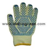 Nuevos guantes calientes de la venta, guante de la cocina, guante de Nomex, cocinando la parte
