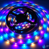12V LED Digital Addressable LED Strip Lpd6803, RGB Multi-Color 30LEDs/M DC12V Flexible Lpd6803 LED Strip Light