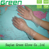 Gants médicaux jetables libres clairs de poudre/vinyle de poudre (OIN, CE diplômée)