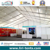 Большой шатер с будочкой, ясный шатер выставки торговой выставки Sapn с стойкой