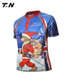 Rugby neuf Jersey, usure de rugby, chemise de type de rugby