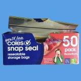Chiusura lampo Lock Reusable Plastic Bag con Logo Printing