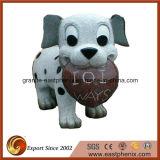 De mooie Steen van de Tuin van de Hond voor Decoratie