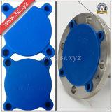 Tampas rápidas aparafusadas plástico da flange do ajuste (YZF-H38)