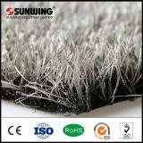 El SGS certificó la alfombra blanca artificial sintetizada natural de la hierba al aire libre