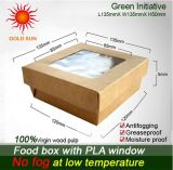 Rectángulo de empaquetado adaptable de la pulpa de madera del 100%