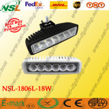 18W Epistar LED Work Light per Fog Driving LED Driving Light