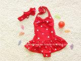 Swimwear del bikini di modo della bambina rossa