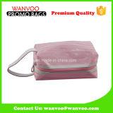 Multifuncional impermeável PVC Clear Maquiagem saco com plástico Zipper