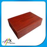 Grande casella di memoria di legno rossa su ordinazione della vigilanza