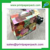 Sacchetto personalizzato di lusso del regalo dell'indumento di colore completo di modo