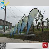 Bandierina del segno della piuma di volo del vento della via del bordo della strada