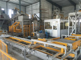 Linha de produção automática do bloco de Qft 10-15