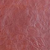 Couro gama alta do Synthetic do PVC da mobília da qualidade superior da fonte do ponto