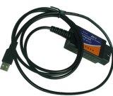 Scanner automatique du lecteur de code diagnostique de véhicule du scanner Elm327 USB de Cp2012 USB Obdii Elm327 USB OBD