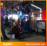 Pipe de múltiples funciones Welding Machine y Station con Three Welding Torches (TIG+MIG+SAW)