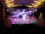 P3.91 결혼식 또는 연회 또는 당 (500*500mm)를 위한 실내 임대료 LED 영상 벽