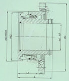 Papierherstellung-mechanische Dichtung mit Bilanzstruktur (HT5)