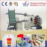 Offset taza de té de impresión de la insignia de la máquina