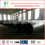 Carbono da serra/Dsaw/LSAW, tubulação soldada espiral do aço de liga