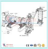 Tamburo essiccatore rotativo economizzatore d'energia per la pallina di legno della segatura che elabora progetto
