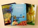 Agenda Noteboos de papeterie de cahier de livre À couverture dure de la taille 220*160mm