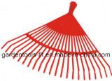 Rastrillo plástico de la hoja de la hierba del jardín de las herramientas de jardín