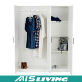 引き出しなさい白いメラミンMDFのワードローブの戸棚デザイン(AIS-W170)を