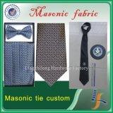 Lazo masónico de la corbata de seda de encargo del Mens